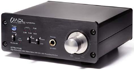 ADL Stratos USB DAC 24bit 192kHz ADC Recording Interface