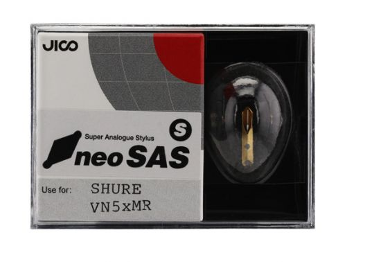 Jico neoSAS/S (High Grade) upgrade for Shure VN5xMR stylus - For US, Canada  & Americas only