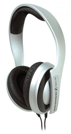 Sennheiser HD 212 Pro Semi-Circumaural Headphones - Silver