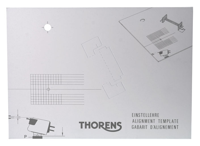 Thorens alignment template | LP GEAR