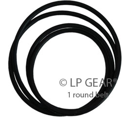 TURNTABLE DRIVE BELT FOR THE B/&O 2400